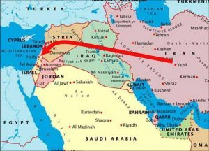 iran iraq syria gas pipeline